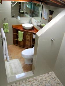 Un baño de Physis Caribbean Bed & Breakfast