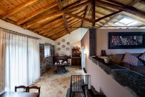 A seating area at Casa Arrigo