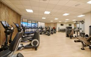 The fitness center and/or fitness facilities at The Westin Las Vegas Hotel & Spa