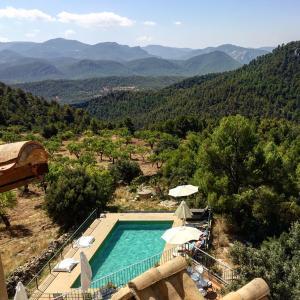 Vista de la piscina de Hotel Mas de la Serra o alrededores
