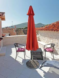A balcony or terrace at Hotel Monika
