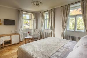 Cama o camas de una habitación en U Zlatych nuzek