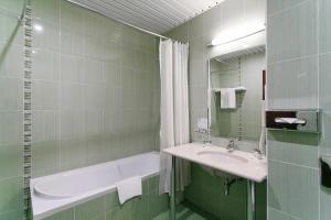 Ванная комната в Отель Бородино