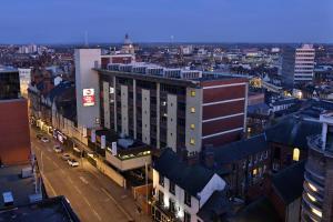 A bird's-eye view of Best Western Plus Nottingham City Centre