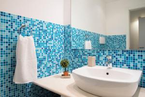 A bathroom at Villetta Venere