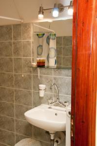 A bathroom at Pineas