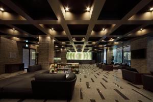 The lobby or reception area at Daiwa Roynet Hotel Kyoto Shijo Karasuma