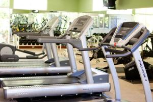 The fitness center and/or fitness facilities at Hotel Globales Camino Real Managua