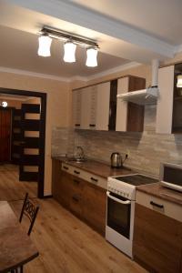 Кухня или мини-кухня в Apartments at 45 Parallel