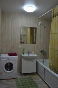 Ванная комната в Apartments at 45 Parallel