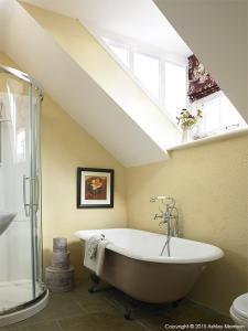 A bathroom at The Brook