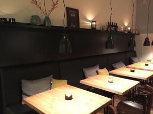 En restaurant eller et andet spisested på Flinchs Hotel
