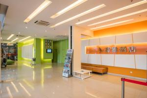 The lobby or reception area at Marvelux Hotel