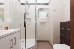A bathroom at Aquamarina Świnoujście