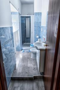 A bathroom at Casa Laura