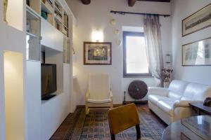 Area soggiorno di Antica Dimora San Pellegrino