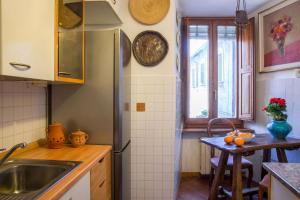 Cucina o angolo cottura di Antica Dimora San Pellegrino