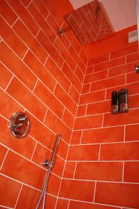 A bathroom at B&B Viale delle Colline