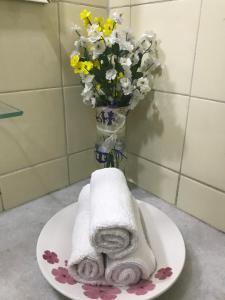 Un baño de Apartamento Joao Paulo II
