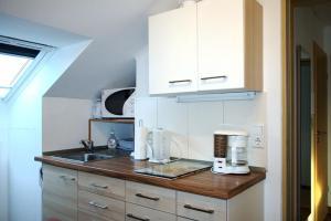 Küche/Küchenzeile in der Unterkunft Haus Engler
