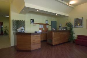Vstupní hala nebo recepce v ubytování Hotel Santa Cruz