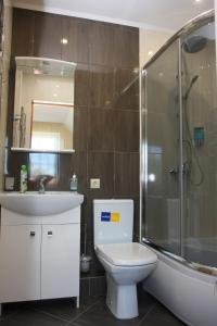Ванная комната в Apartments Domino