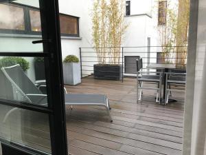 מרפסת או טרסה ב-YOOMA Urban Lodge
