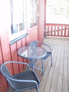 En balkong eller terrasse på Femund Nasjonalparkhotell