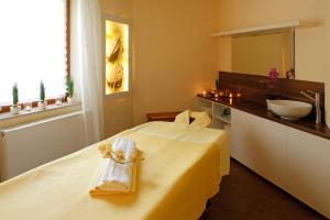 Ein Badezimmer in der Unterkunft Hotel Waldblick Kniebis