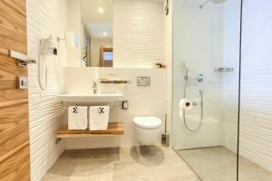 A bathroom at Hotel Villa Margaret