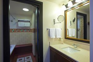 A bathroom at Disney's Sequoia Lodge®