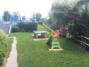 Children's play area at Hotel Scaranò