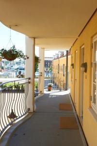 Балкон или терраса в Hotel Ærø