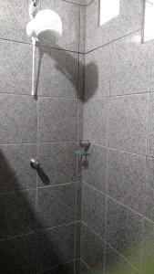 A bathroom at Pousada Segredo