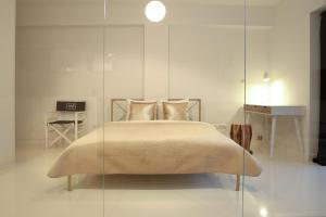 Łóżko lub łóżka w pokoju w obiekcie Super-Apartamenty Prestige