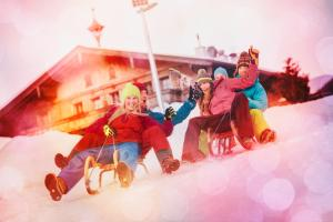 Children staying at Appartement Alpenfex