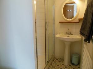 Salle de bains dans l'établissement L'Expressoir-Maison d'hôtes