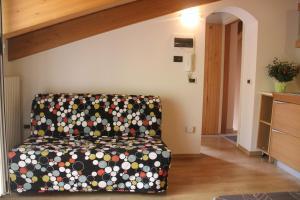 Area soggiorno di Nove Colli Holiday Apartments
