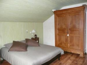 Un ou plusieurs lits dans un hébergement de l'établissement Au doux Doubs