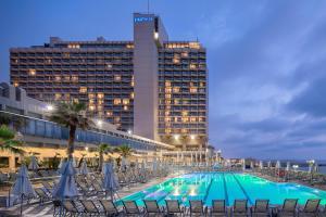 The swimming pool at or near The Vista At Hilton Tel Aviv