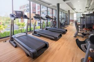 The fitness center and/or fitness facilities at The Canal 304