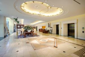 The lobby or reception area at Viale Osaka