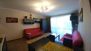 Część wypoczynkowa w obiekcie Apartament w Rezydencji Marino Rewal