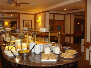 A restaurant or other place to eat at Carrington House Hotel