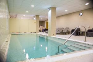 The swimming pool at or close to Hotel Szent István