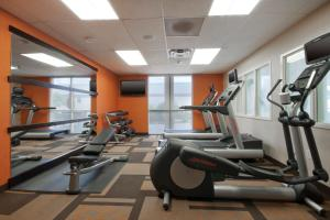 The fitness center and/or fitness facilities at Courtyard by Marriott Amarillo West/Medical Center
