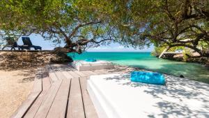 The swimming pool at or near Coralina Island