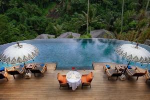 The swimming pool at or near Natya Resort Ubud