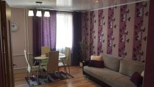 Гостиная зона в Apartment Lenin