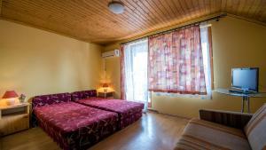 Postel nebo postele na pokoji v ubytování Engelhaus
